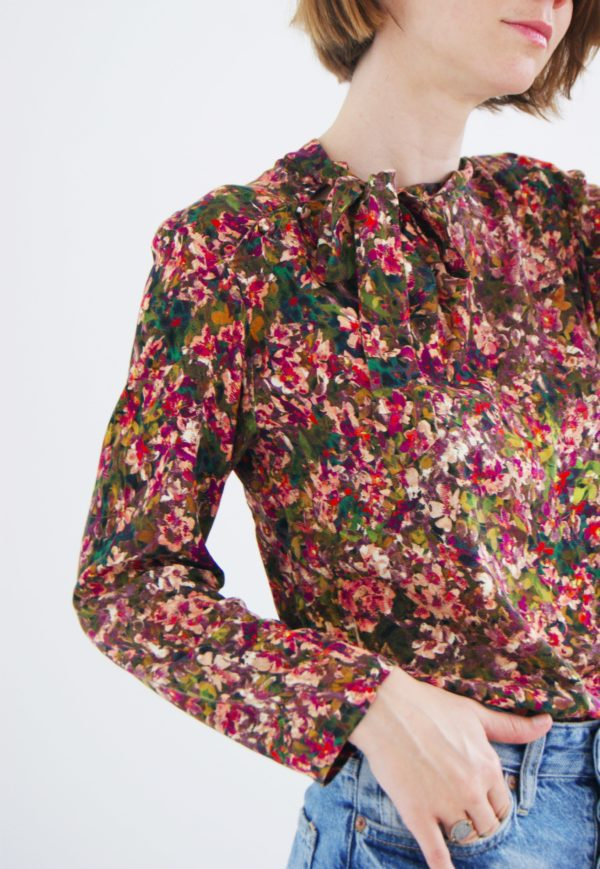 patron couture blouse pepper kit by klo
