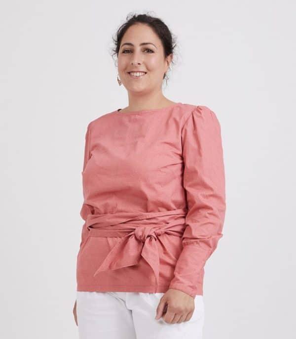 patron couture emma blouse sewing pattern coralie bijasson