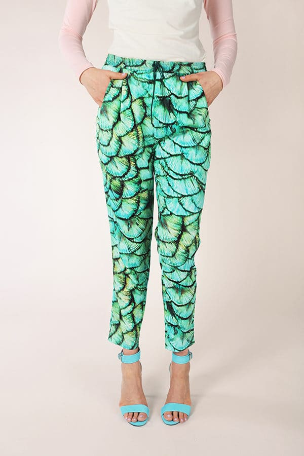 sewing pattern alexandria pants Named