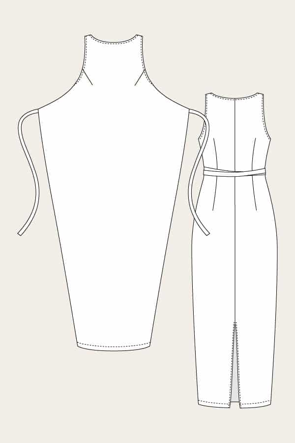 sewing pattern kielo dress Named