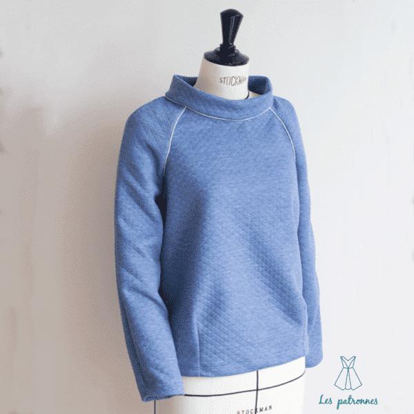 patron couture sewing pattern sweat niki les patronnes