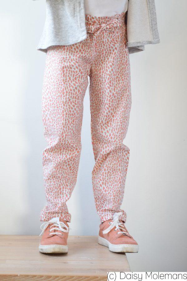 patron couture sewing pattern pantalon pants tintin iris may
