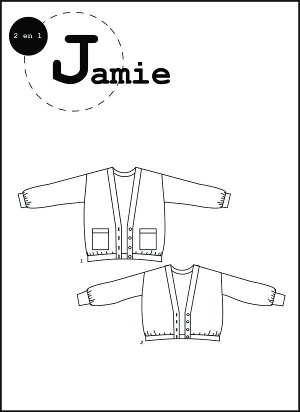 patron couture sewing pattern jamie ready to sew