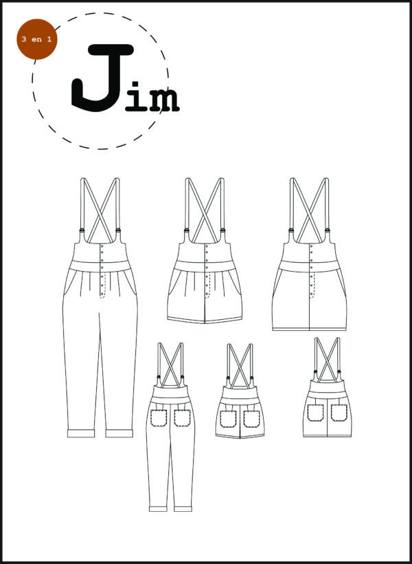 patron couture sewing pattern jim ready to sew