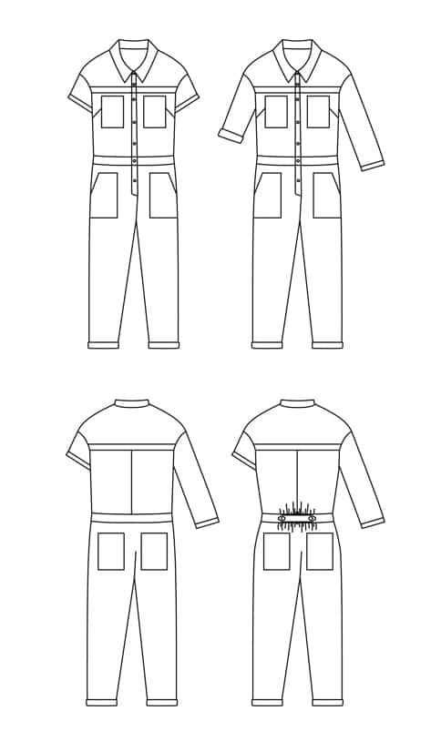 sewing pattern jean paul ready to sew