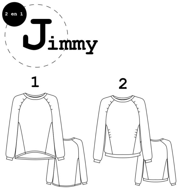 patron couture sewing pattern jimmy ready to sew