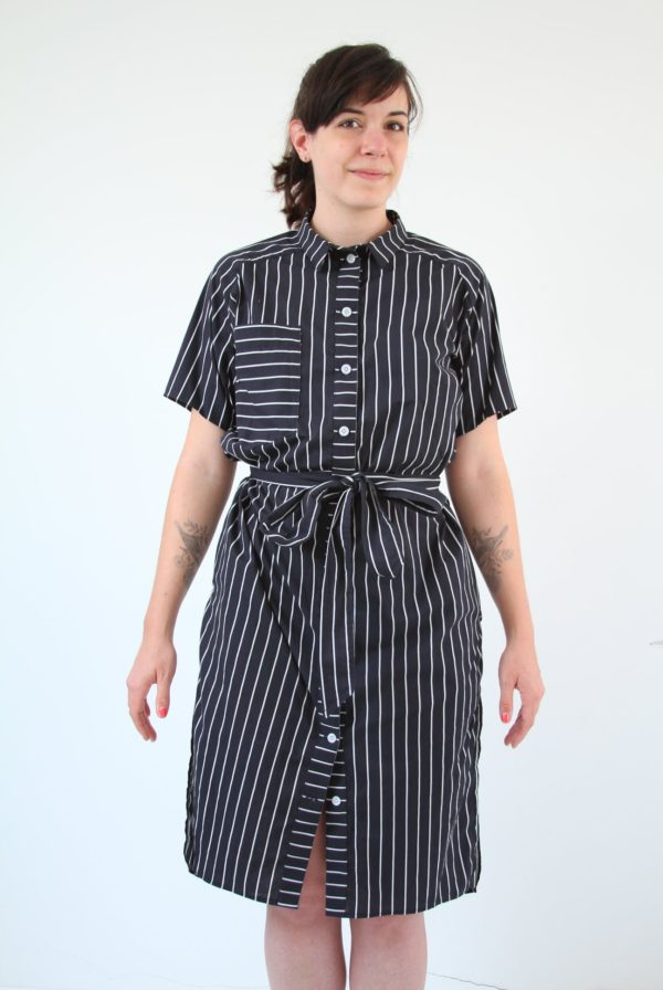 sewing pattern shirt dress perkins ensemble