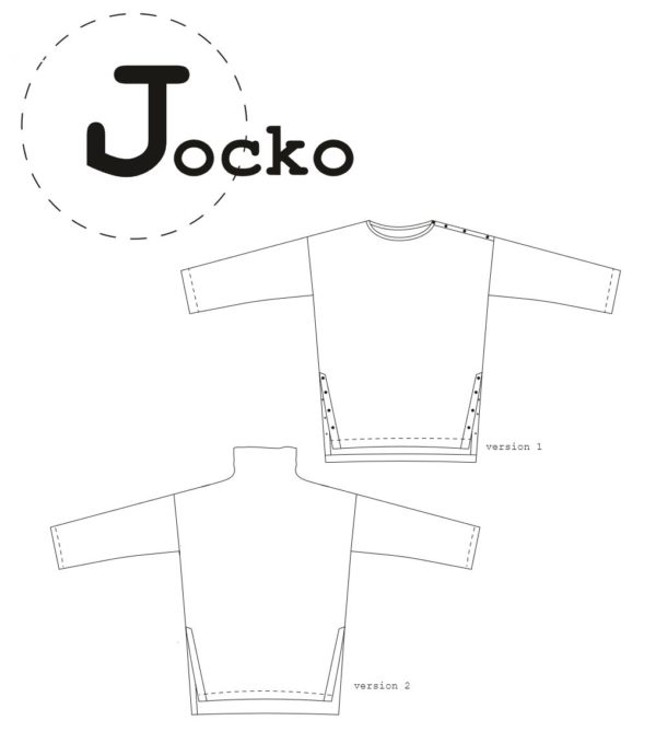 patron couture pull jocko sewing pattern jocko ready to sew
