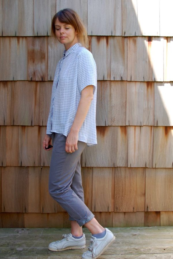 sewing pattern shirt perkins ensemble