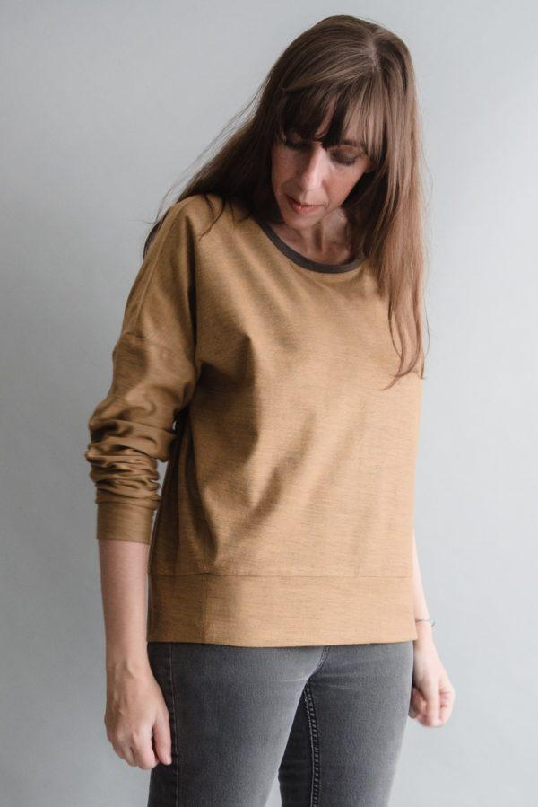 sewing pattern sweater sunday everyday ensemble