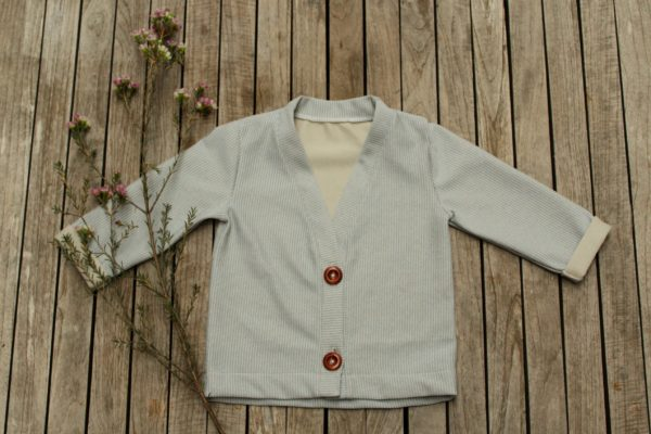 sewing pattern cardigan Josephine Iris May patron couture