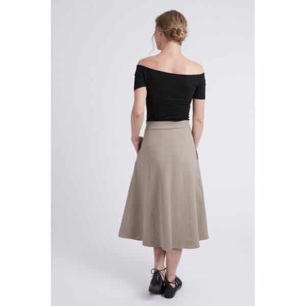 patron couture sewing pattern jupe skirt sabine coralie bijasson