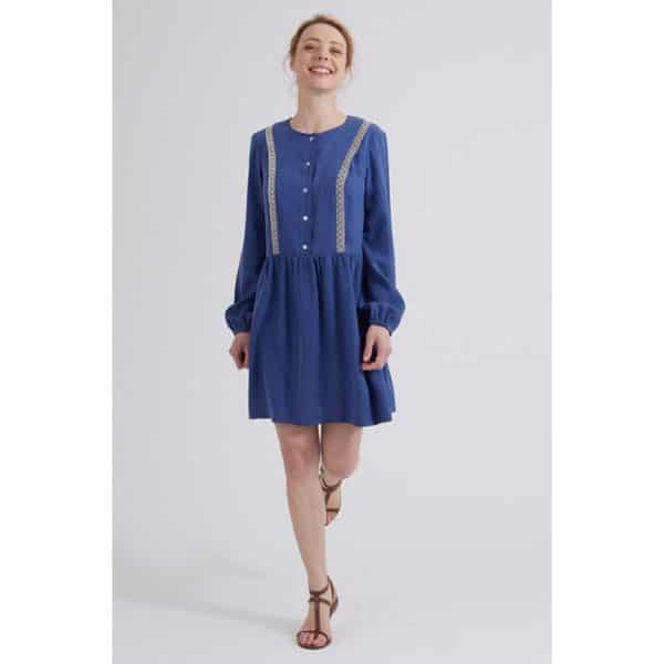 patron couture sewing pattern robe dress ariane coralie bijasson