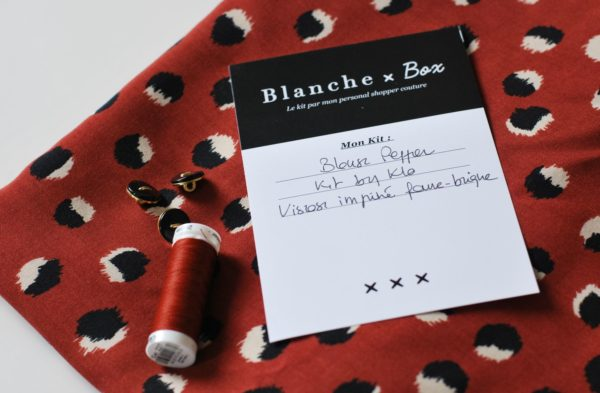kit couture Blanche Box Pepper