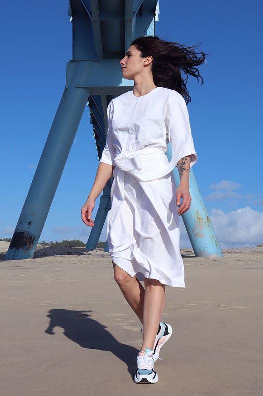 Patron couture zéro déchet robe Adonis Milan AV-JC