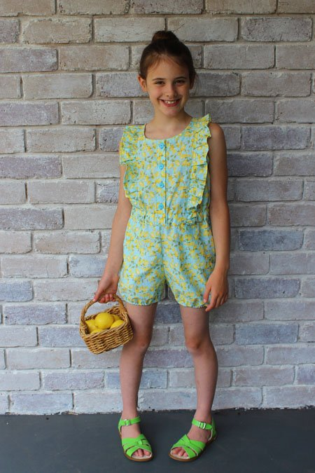 Sewingpattern playsuit seed sewpony