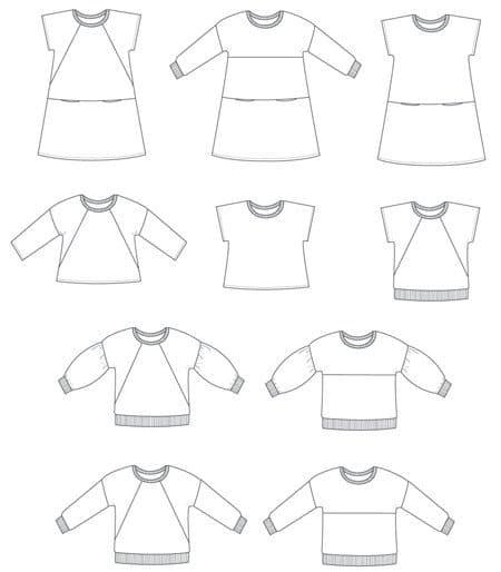 Sewing pattern Sorella Sewpony