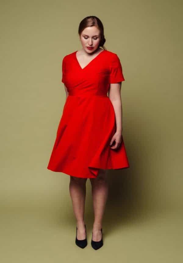Patron couture robe Johanne Melilot