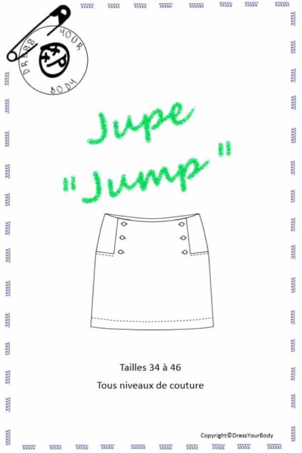Patron de couture jupe Jump Dress Your Body