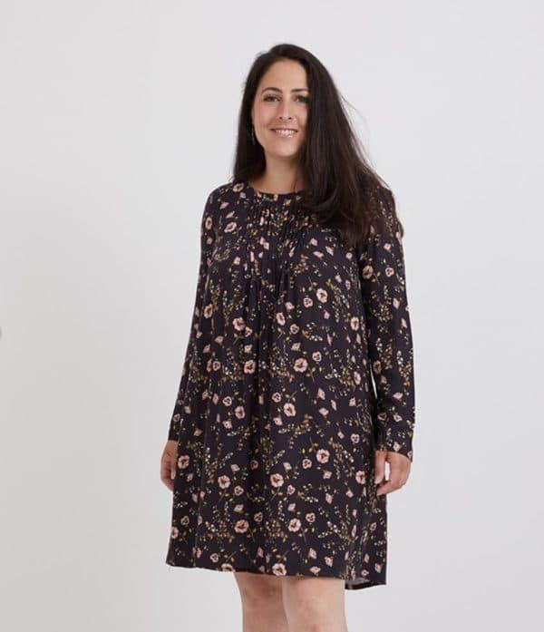 Patron de couture top plissé Eileen Coralie Bijasson C'est Moi Le Patron