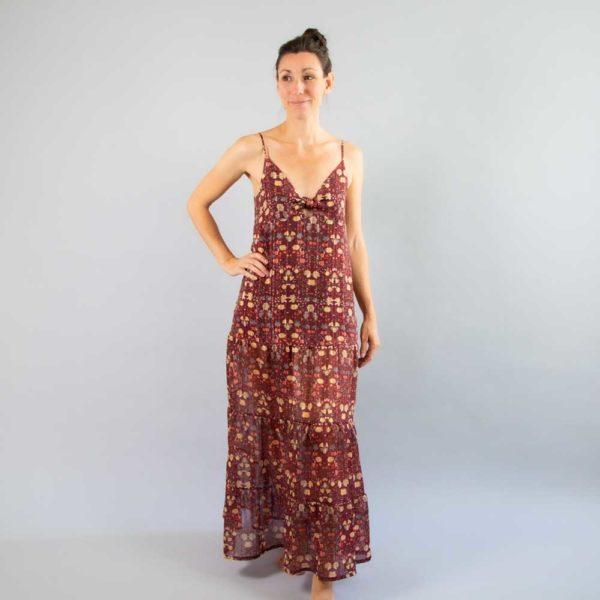 Patron couture robe Elegy Mimoi