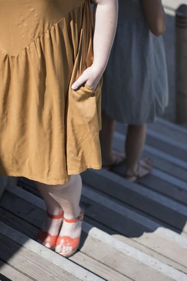 Patron couture robe Mana Chez Machine