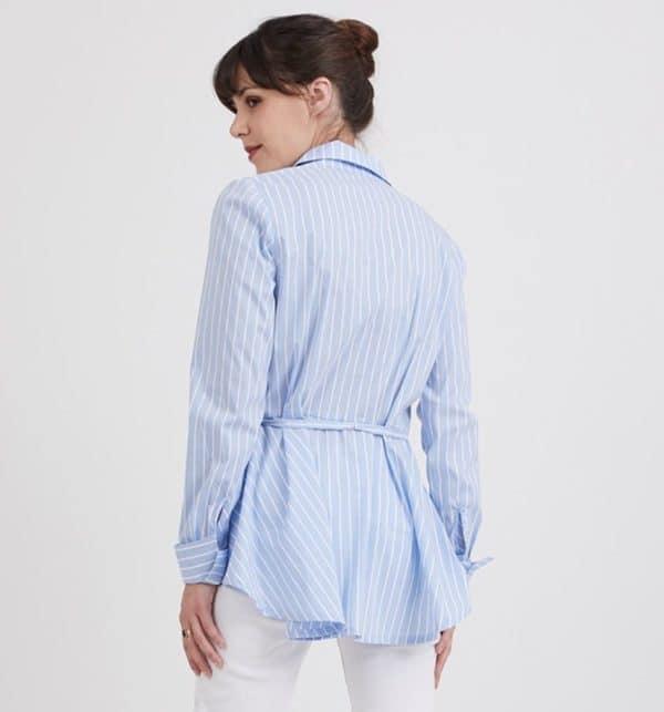 Patron de couture chemise à basque Emmanuelle Coralie Bijasson C'est Moi Le Patron