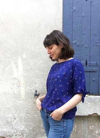 Patron de couture veste et top Iris Slow Sunday Paris