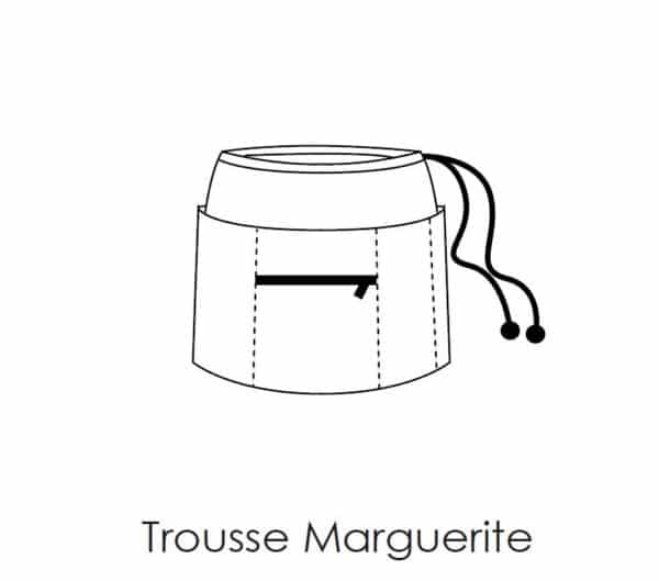 Patron de couture trousse Marguerite Petit Patron