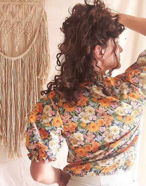 Patron couture chemisier Lilas Lysimaque